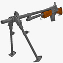 Automatic Rifle 3D models