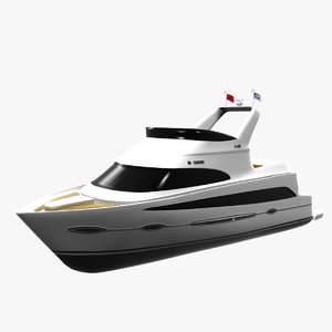 3ds max carver 41 yacht