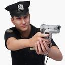 police officer 3D models