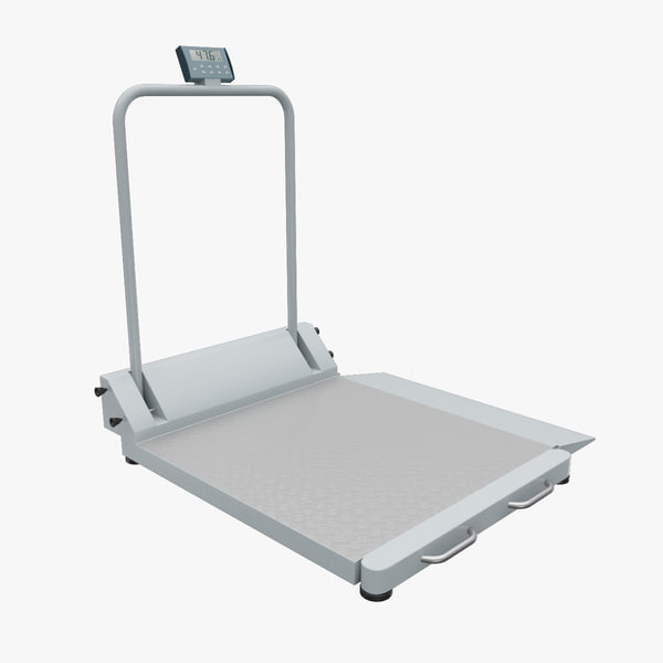 max electronic wheelchair scale