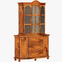 wooden cupboard 3ds