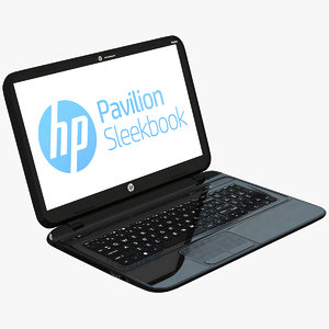max hp pavilion sleekbook computer screen