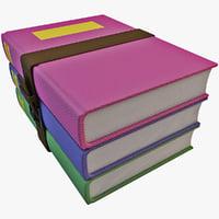 books icon c4d