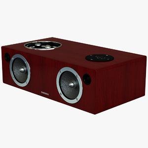 speaker dock samsung da-e750 3ds