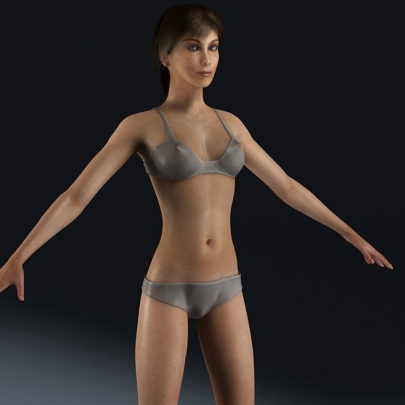 3dsmax female
