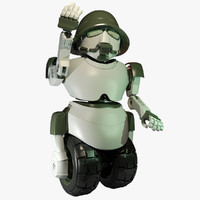 robot m14 3d model