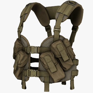 max army tactical vest otter