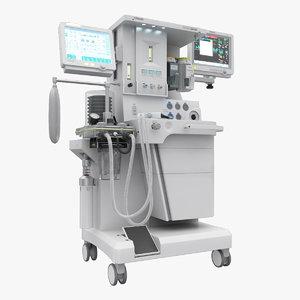 bilanx ax-700 anesthesia apparatus 3d max
