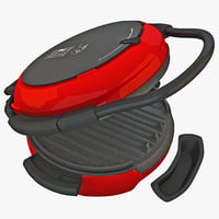 3d model sandwich toaster cookware