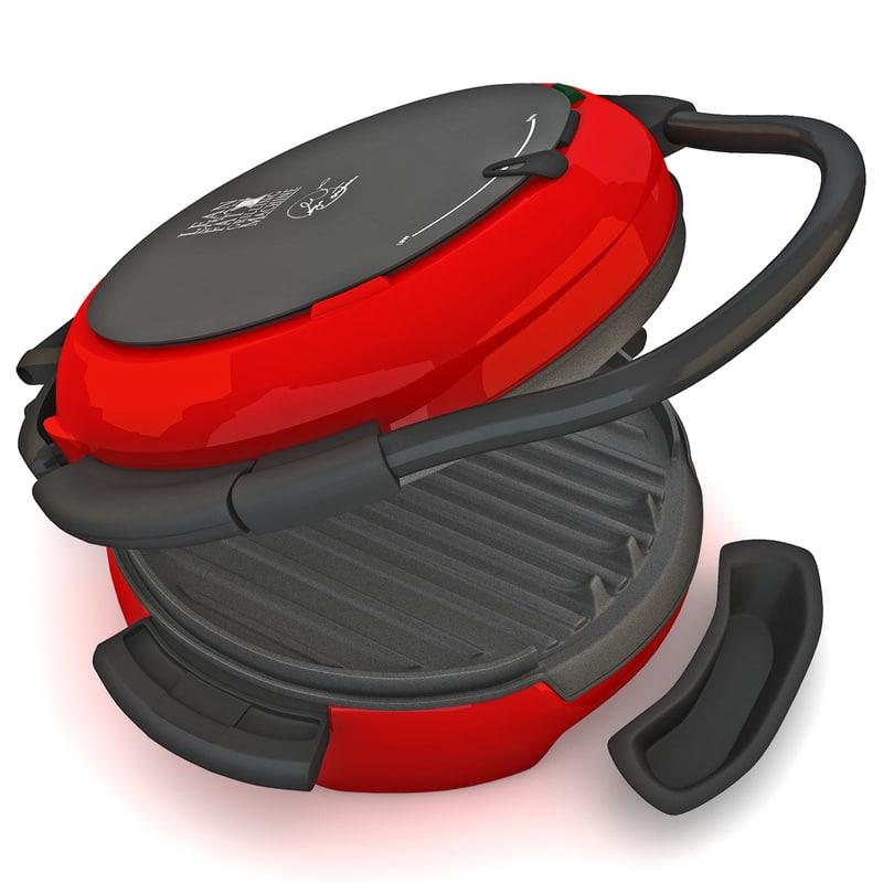 3d model sandwich toaster cookware