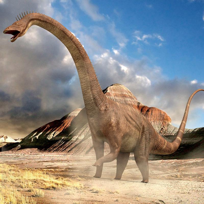 diplodocus rigging animation 3d max