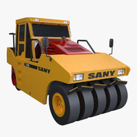Sany YL25C Tyre Roller