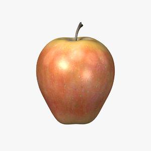 red apple obj