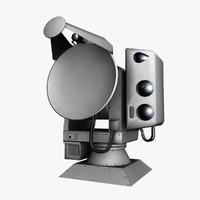 3d model reutech rts 6400 optronics
