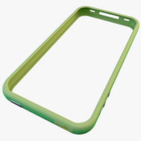 3d model green iphone 4 bumper