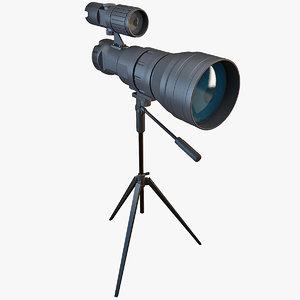 digital day-night long-range sm-3nvtv 3d model