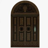 Wood Door 4