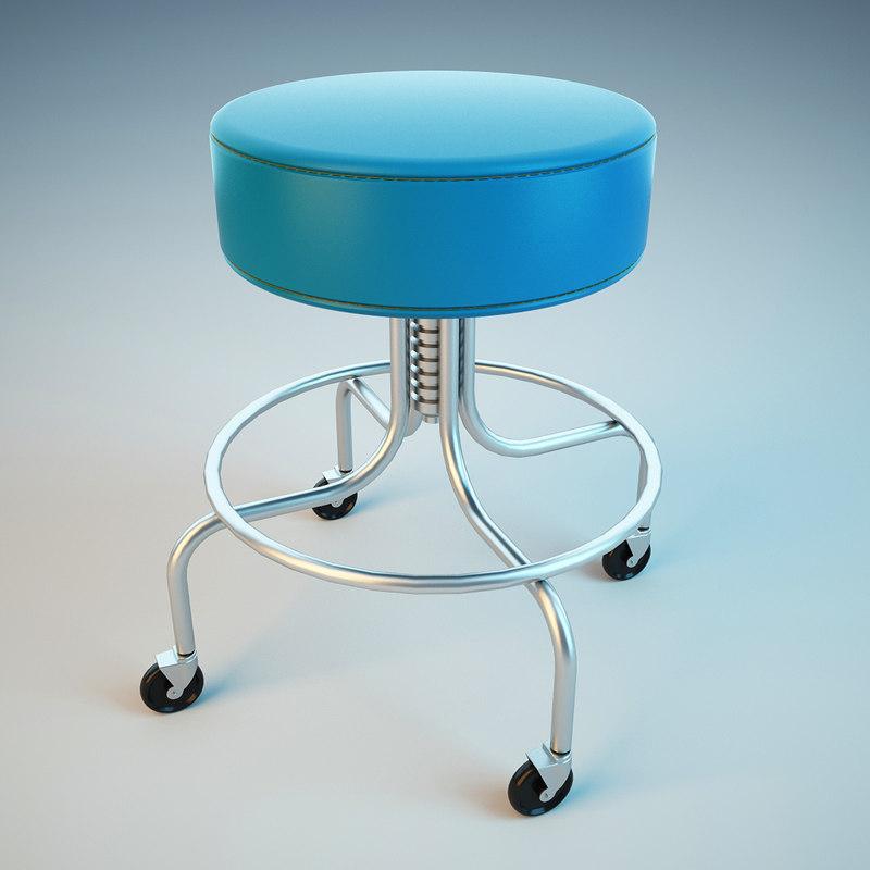 3d medical chair model