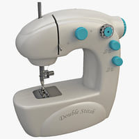 3d sewing machine 4 model