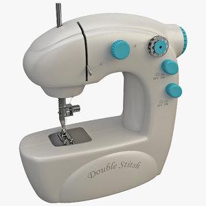 3d sewing machine 4 model