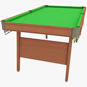 3d snooker table powerglide executive model