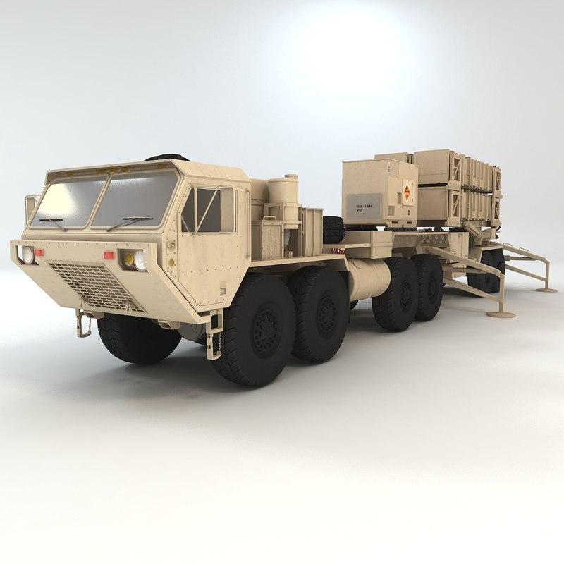 heavy truck hemtt patriot 3ds