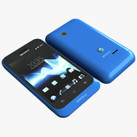 blue sony xperia c4d