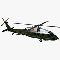 vh-60n helicopter 3d max