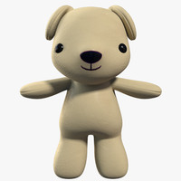 3d cartoon toy dog character