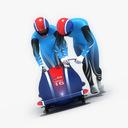 bobsledding 3D models