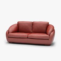 3d sofa palmira model