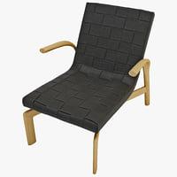 3d armchair minotti pasmore model