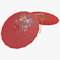 japanese umbrella 3ds
