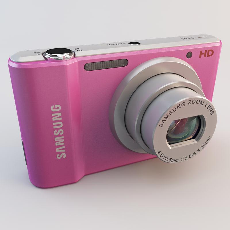 obj samsung st68 pink camera