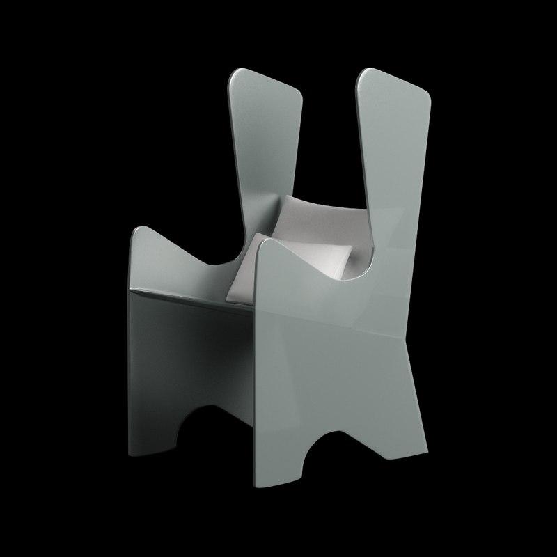 chair plastic model