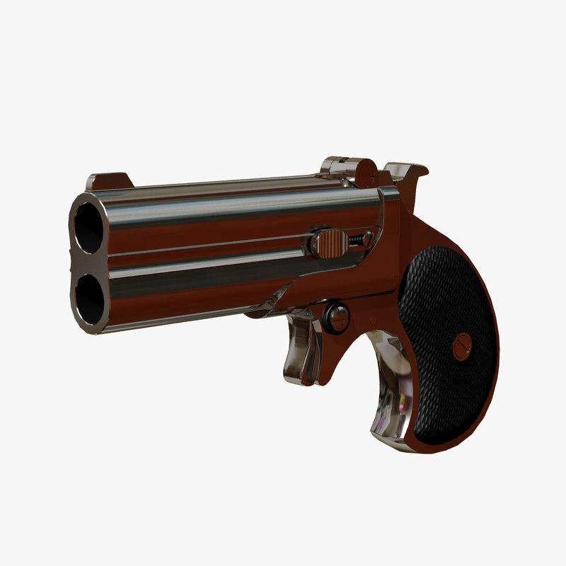 max cal frontier derringer pistol