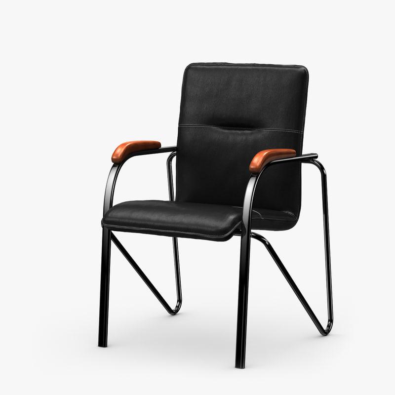 office chair samba 3d max