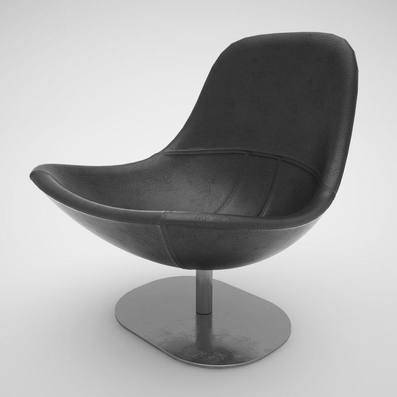 tirup chair 3d max