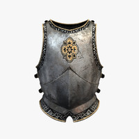 xsi engraved breastplate