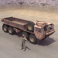 3d model m985 hemtt driver transport