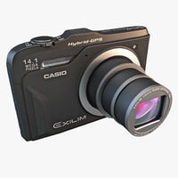 3d digital camera casio exilim model