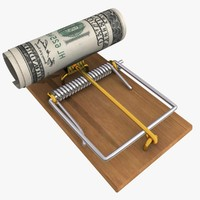 mousetrap dollar bill 3ds