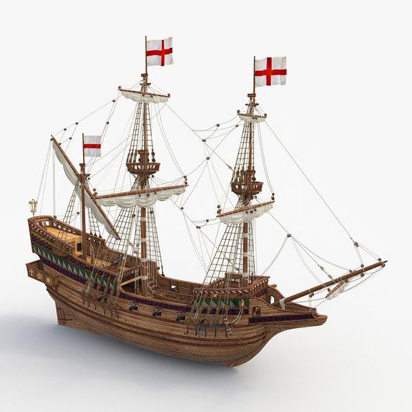 max galleon golden hind