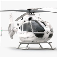 Eurocopter EC 135 Generic White