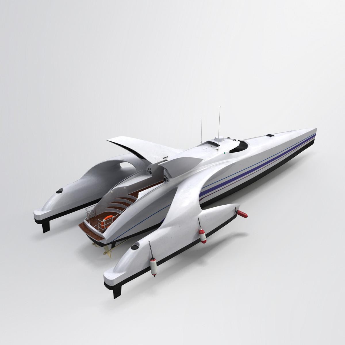 boat 3d max