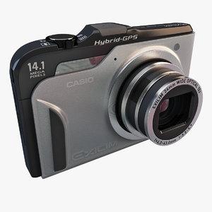 digital camera casio exilim 3d 3ds