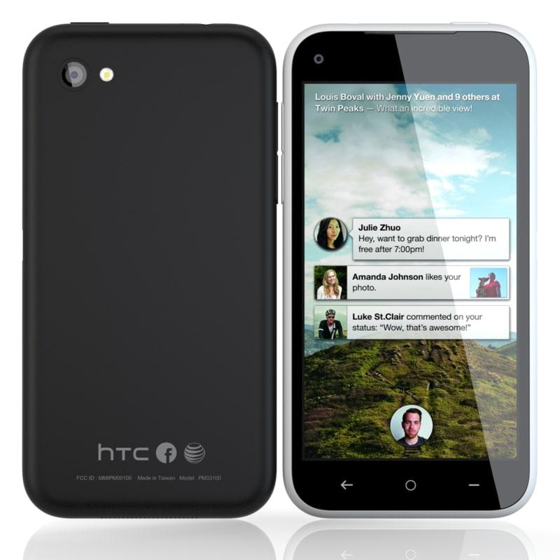 htc black white 3d model