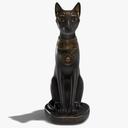 cat statue 3D models