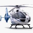 Eurocopter EC135 3D models