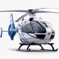 3d eurocopter ec 135 private